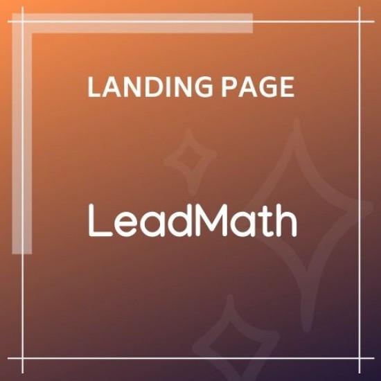 LeadMath Lead Generation HTML Landing Page Template
