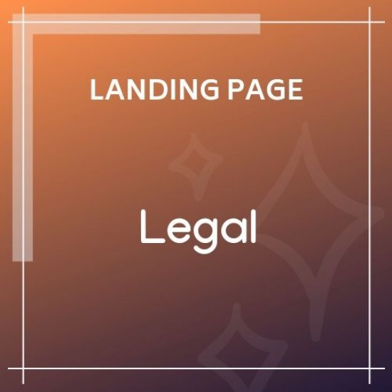 Legal Law Firm OnePage HTML Template