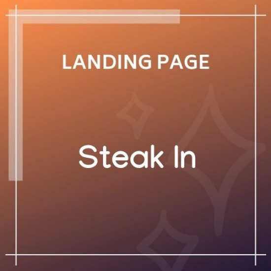 Steak In Restaurant Cafe HTML5 Template