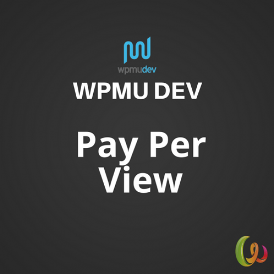 WPMU DEV Pay Per View 1.4.6