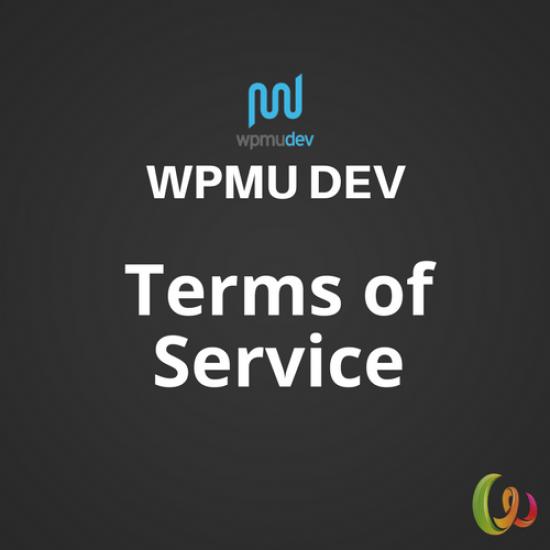 WPMU DEV Terms of Service 1.3.5