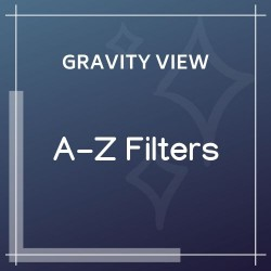GravityView A-Z Filters Extension 1.2.1