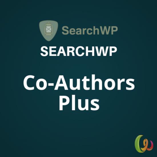 SearchWP Co-Authors Plus Integration 1.1.1