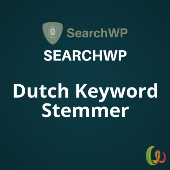SearchWP Dutch Keyword Stemmer 1.2.4
