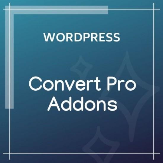Convert Pro Addons