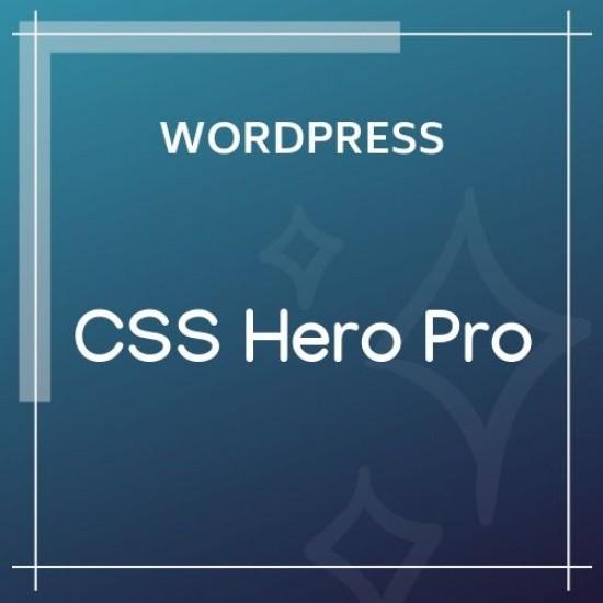 CSS Hero Pro