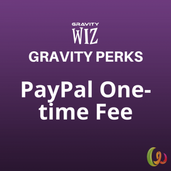 Gravity Perks PayPal One-time Fee 2.0.beta1.1