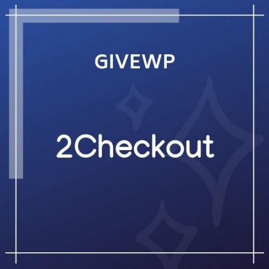 Give 2Checkout Gateway 1.1.3