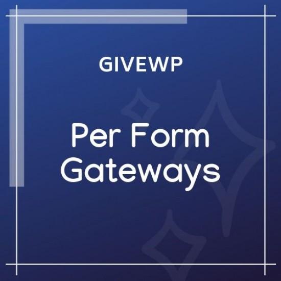 Give Per Form Gateways 1.0.2