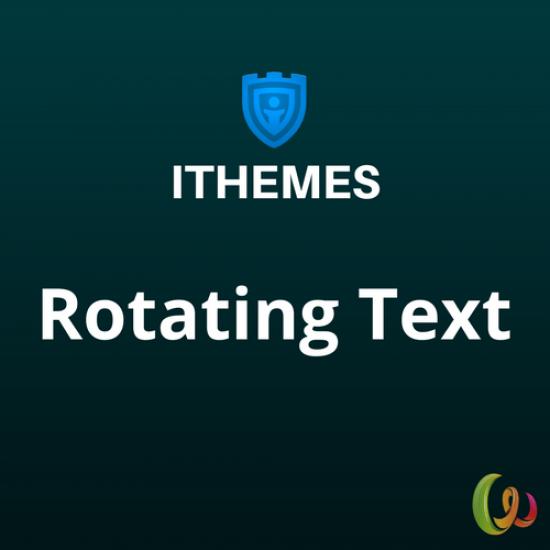 iThemes DisplayBuddy Rotating Text 1.0.43