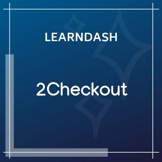 LearnDash LMS 2Checkout Integration 1.1.0
