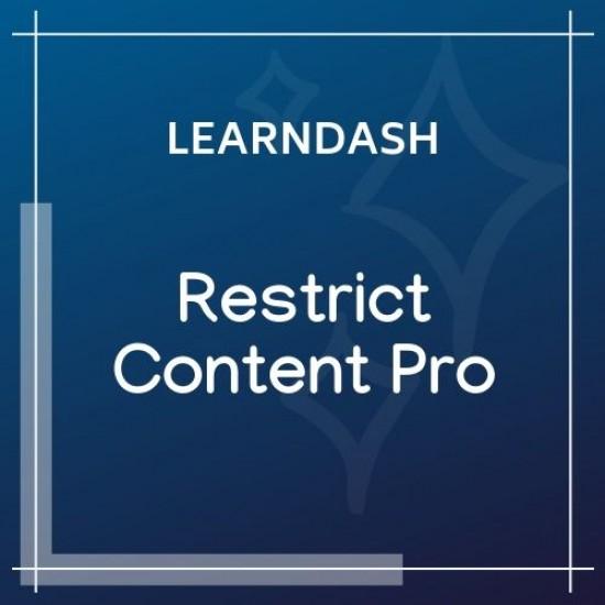 LearnDash LMS Restrict Content Pro Integration 1.1.0