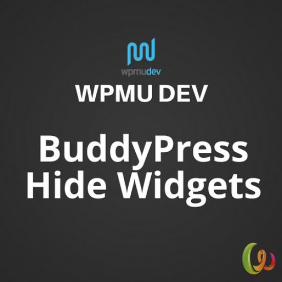 WPMU DEV BuddyPress Hide Widgets 1.0.5
