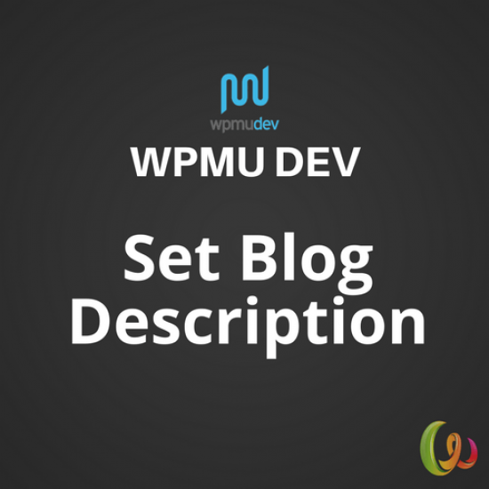 WPMU DEV Set Blog Description 1.1.0