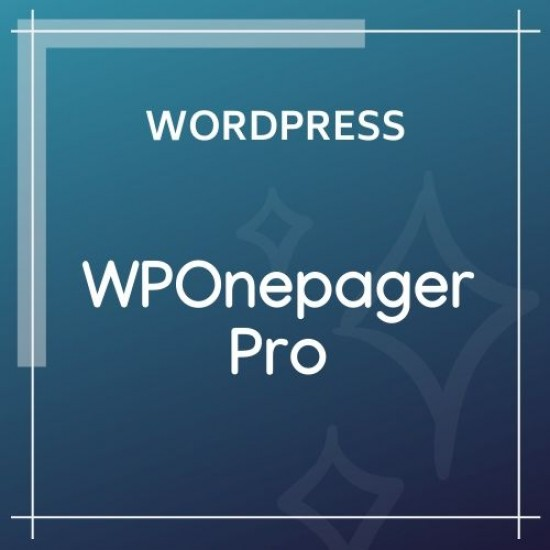 WPOnepager Pro