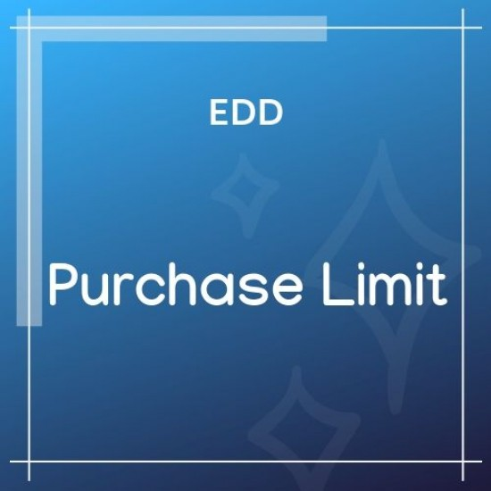 Easy Digital Downloads Purchase Limit 1.2.19
