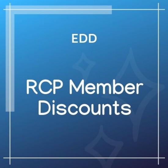 Easy Digital Downloads Restrict Content Pro Member Discounts 1.1.4