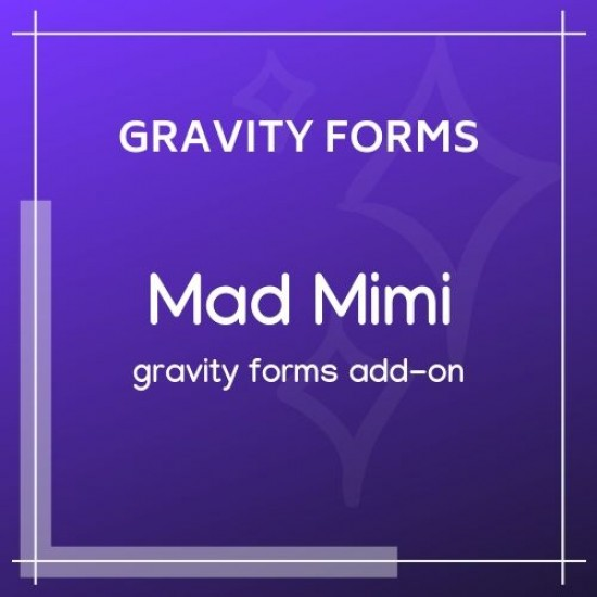 Gravity Forms Mad Mimi