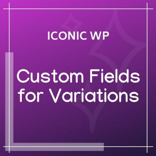 WooCommerce Custom Fields for Variations 1.2.3