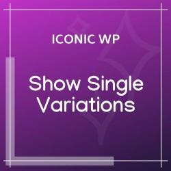 WooCommerce Show Single Variations
