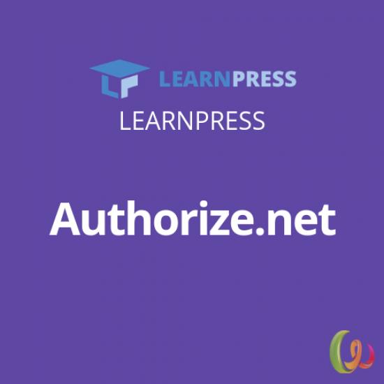 LearnPress Authorize.net Add-on 3.0.1