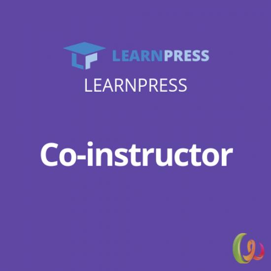 LearnPress Co-instructor Add-on 3.0.6