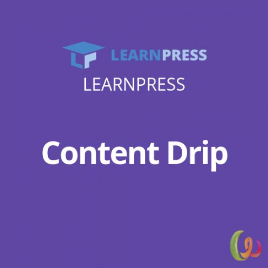 LearnPress Content Drip Add-on 3.1.4