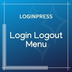 LoginPress Login Logout Menu