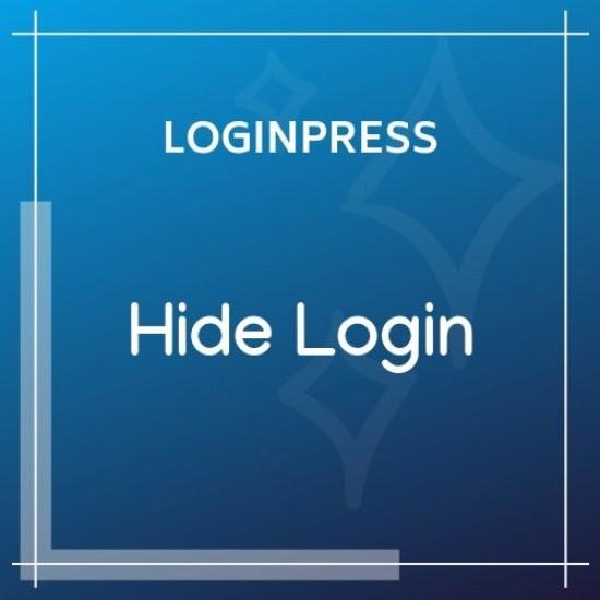 LoginPress Hide Login