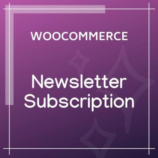 WooCommerce Newsletter Subscription