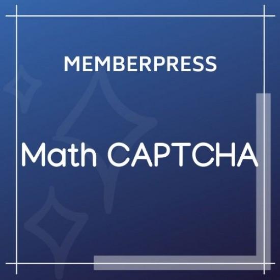 MemberPress Math CAPTCHA 1.1.7