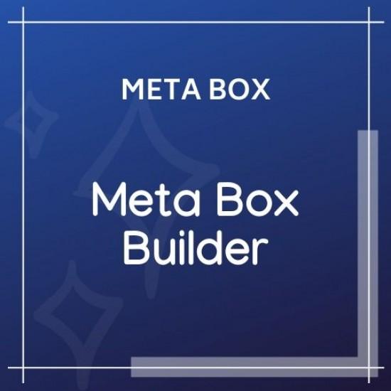 Meta Box Builder
