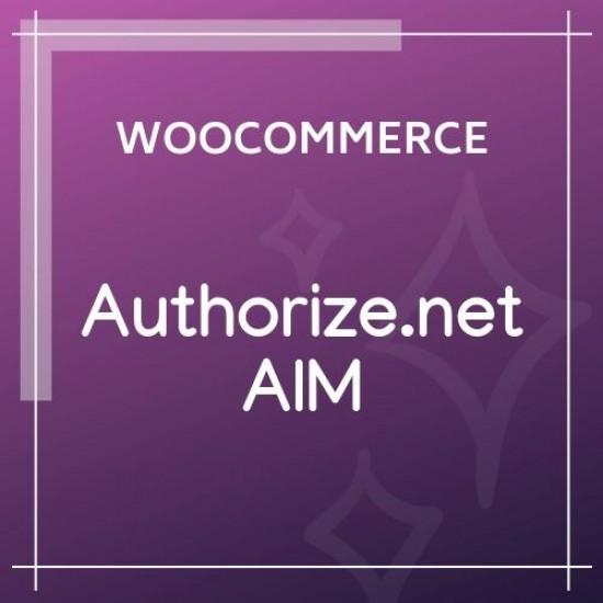 WooCommerce Authorize.net AIM Payment Gateway