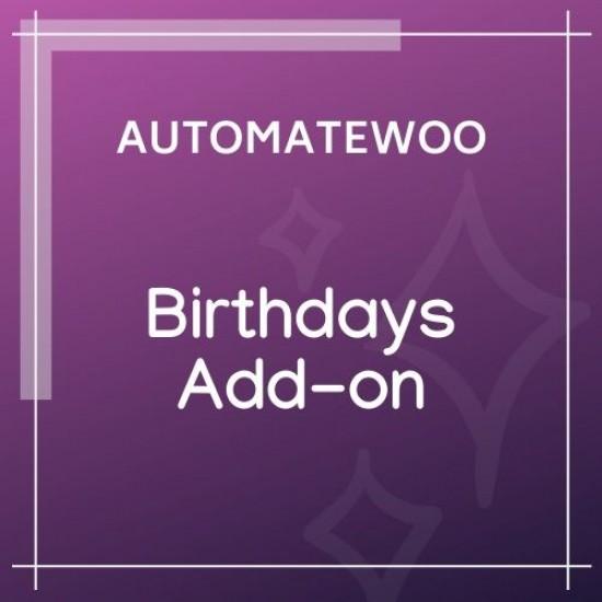 AutomateWoo Birthdays Add-on