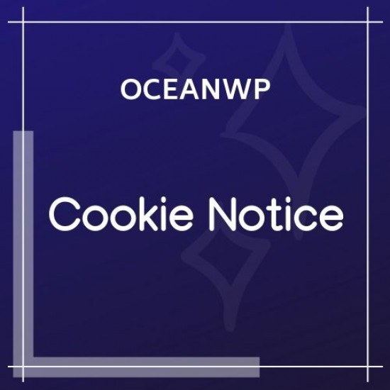 OceanWP Cookie Notice 1.0.5
