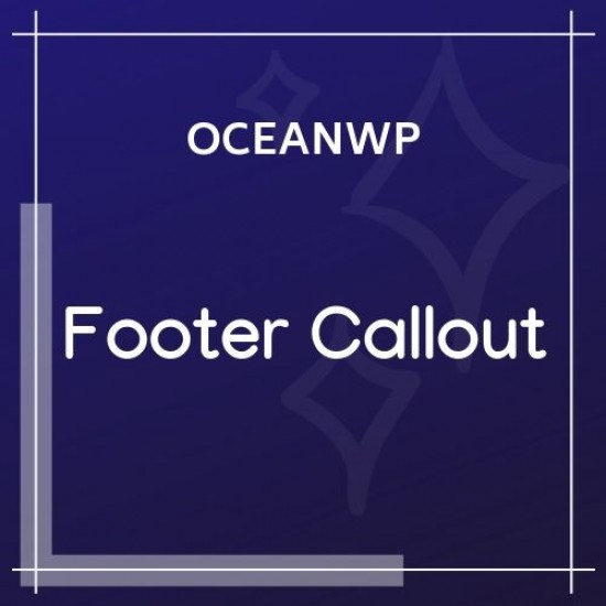 OceanWP Footer Callout