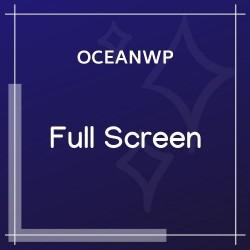 OceanWP Full Screen 1.0.7