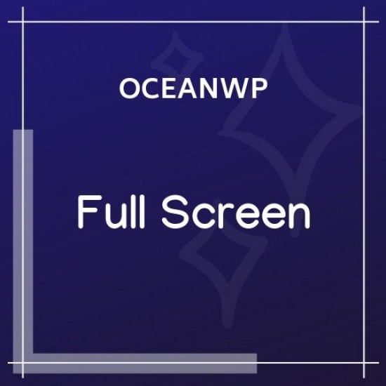 OceanWP Full Screen 1.0.7