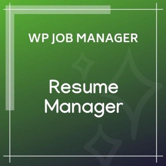 WP Job Manager Resume Manager 1.18.1