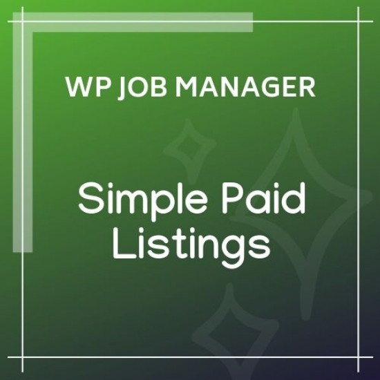 WP Job Manager Simple Paid Listings 1.4.1
