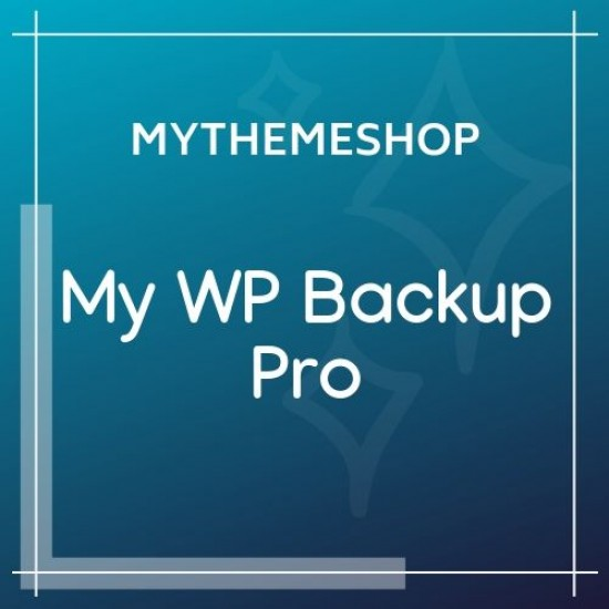 MyThemeShop My WP Backup Pro 1.3.12