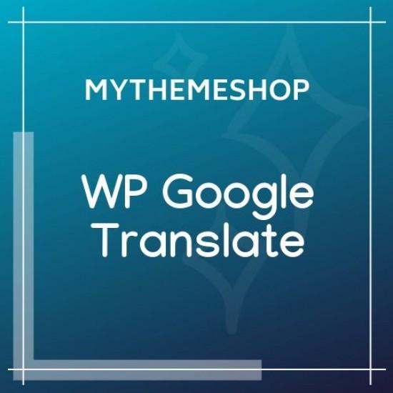 MyThemeShop WP Google Translate 1.0.7