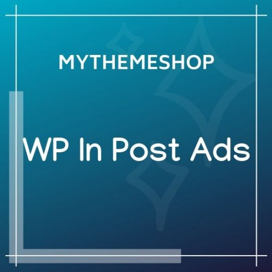 MyThemeShop WP In Post Ads 1.2.3
