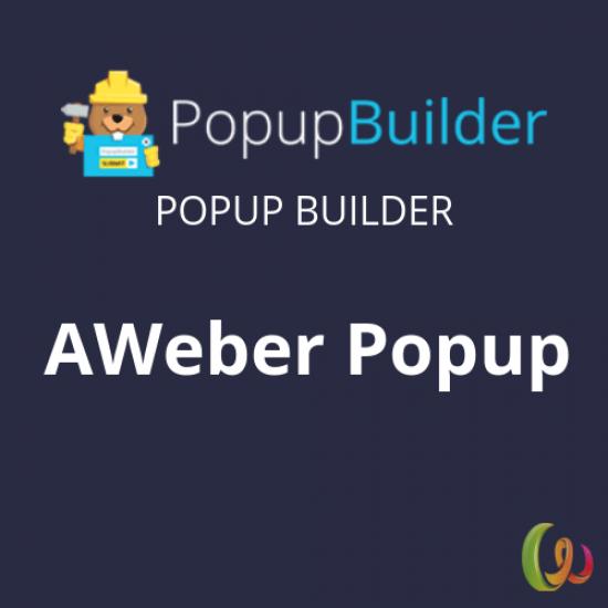 Popup Builder AWeber 2.6