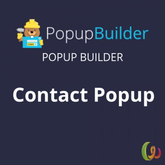 Popup Builder Contact Form