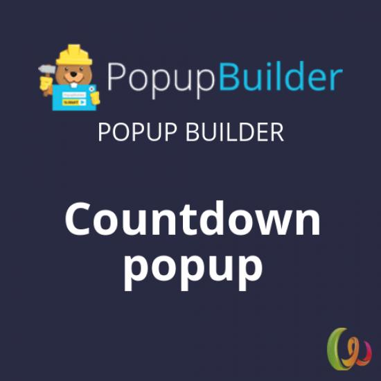Popup Builder Countdown