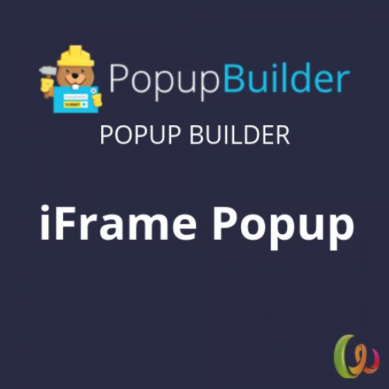 Popup Builder iFrame