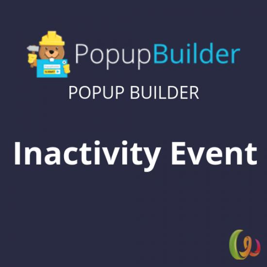 Popup Builder Inactivity Event 1.5
