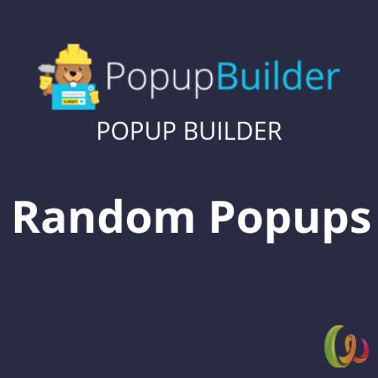 Popup Builder Random
