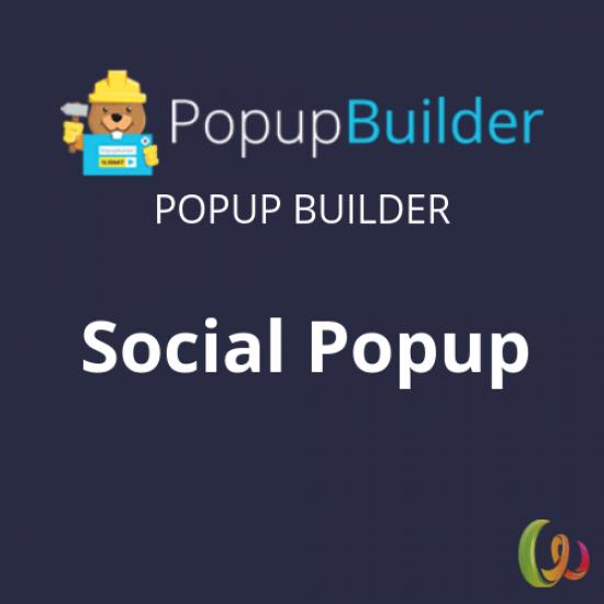 Popup Builder Social 1.5